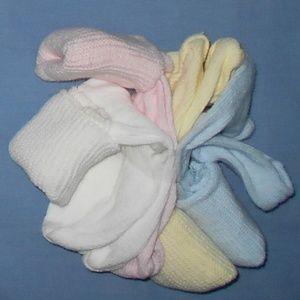 Vintage 4 Pairs Soft Pastel Color socks